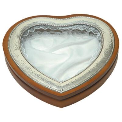 Στεφανοθήκη Καρδιά Σφυρήλατη-Rought Wedding Wreath Case Heart