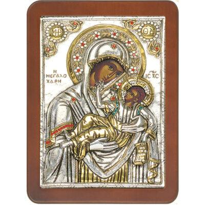 Παναγία Μεγαλόχαρη-Virgin Great Grace