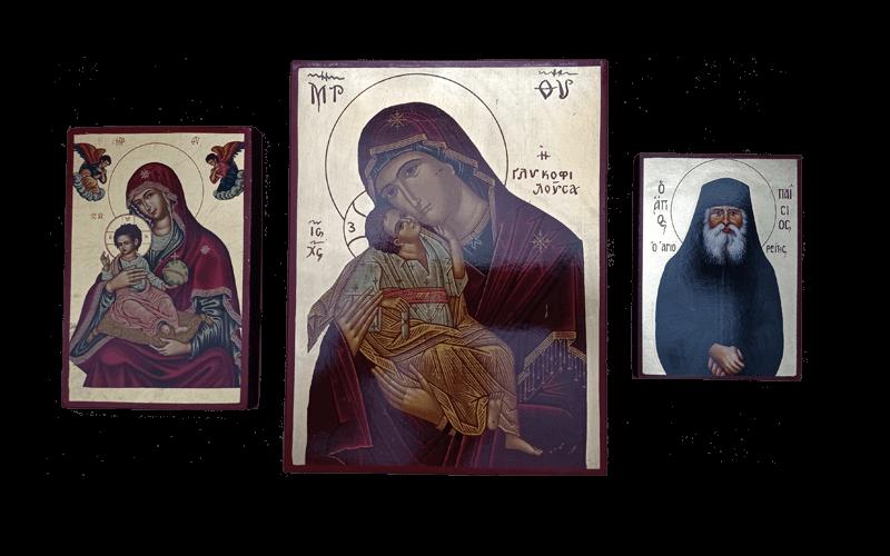 Ξύλινες Εικόνες Επίπεδες-Wooden Flat Icons