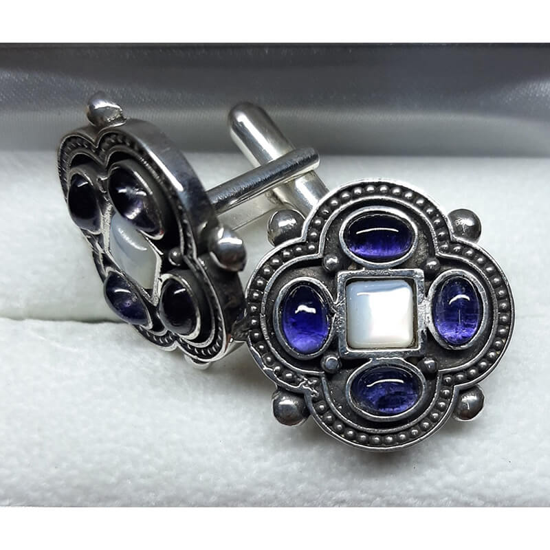 Ιερατικά μανικετόκουμπα-Hieratic cufflinks