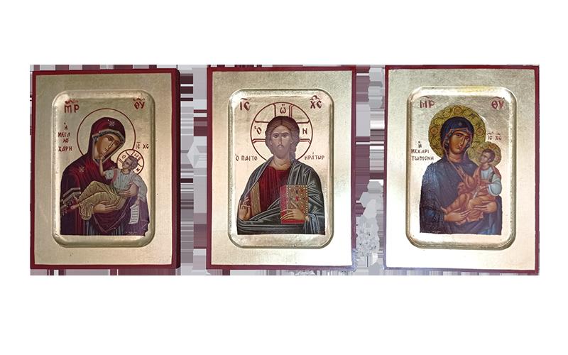 Ξύλινες Εικόνες Σκαφτές-Wooden Carved Icons
